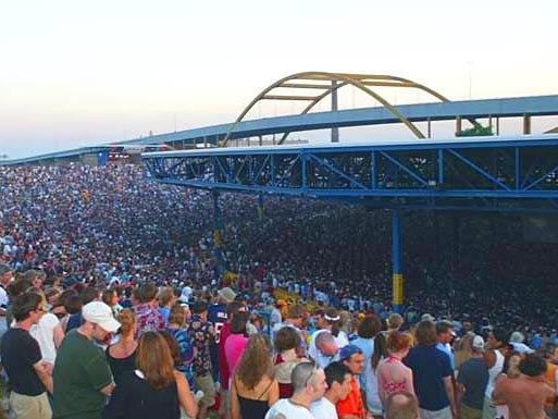 Marcus Amphitheater Seating Chart Lawn View