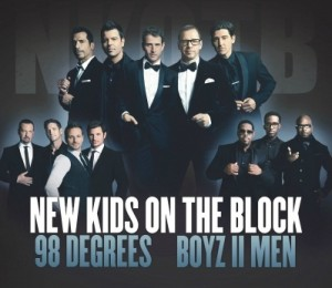 New Kids on The Block, 98 Degrees and Boys II Men-Marcus Amphitheater